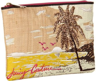 Juicy Couture Palm Trees Pouch (Natural) - Bags and Luggage