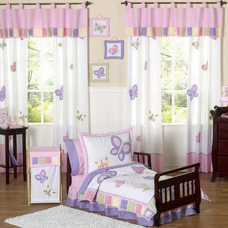 JoJo Designs Sweet Butterfly Toddler Bedding Collection