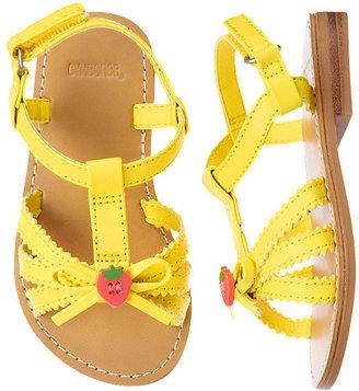 Gymboree Strawberry Button Sandal