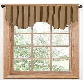 JCPenney EclipseTM Tavern Rod-Pocket/Back-Tab Valance