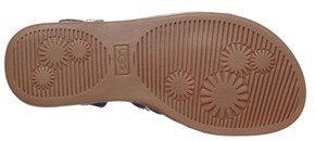 UGG 'Krystie' Studded Leather Sandal (Little Kid & Big Kid)