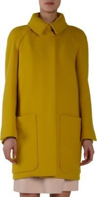 Chloé Hidden Placket Raglan Coat