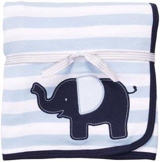 Carter's elephant striped blanket