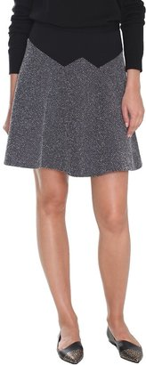 Tibi Birdeye Knit Flirty Skirt