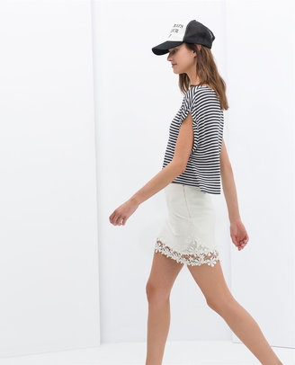 Zara Canvas Skirt