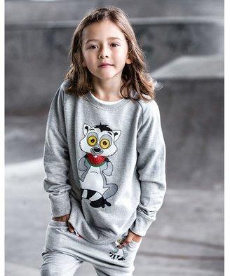 Tao & Friends Grey Lemuren Sweatshirt