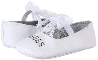 GUESS Kids' - Swan Lace (Infant/Toddler) (White Leather) - Footwear