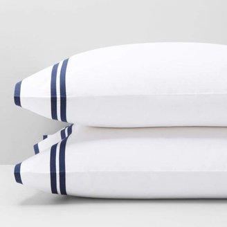 Matouk Meridian King Pillowcase, Pair