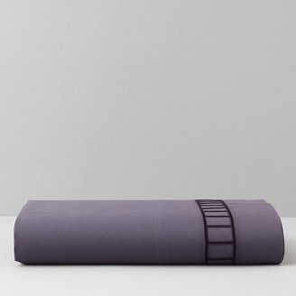 Vera Wang Violet Fitted Sheet, Queen