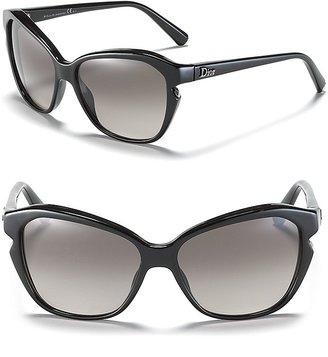 Christian Dior Black Cat Eye Sunglasses