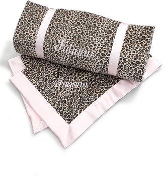 Swankie Blankie Cheetah-Print Toddler Blanket, Plain