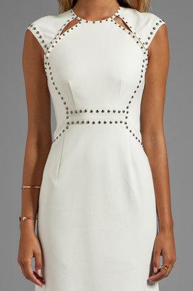 Nanette Lepore Sparkle Studs Trampoline Dress