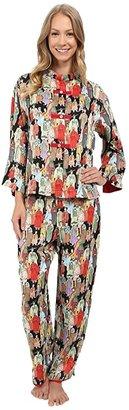 Natori Dynasty PJ (Black) Women's Pajama Sets