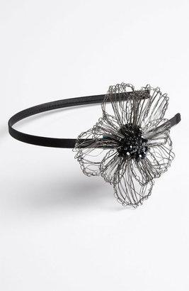 Tasha Woven Wire Flower Headband