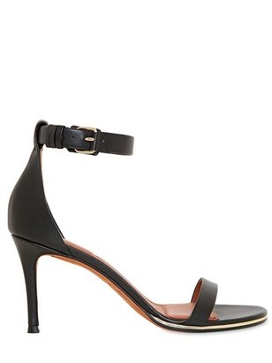 Givenchy 80mm Calfskin Ankle Strap Sandals