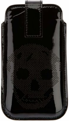 perforated skull Blackberry case