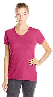 Champion Women's Jersey V-neck Tee $4.81 thestylecure.com