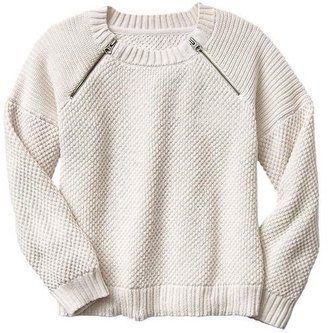 Gap Boxy zip sweater