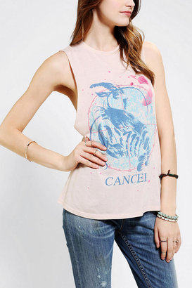 Urban Outfitters Corner Shop Zodiac Muscle Tee