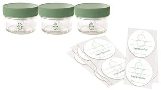 Sage Spoonfuls Glass Mini Storage Pack