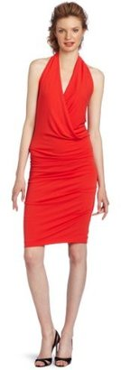 Nicole Miller Women's Matte Jersey Halter Dress