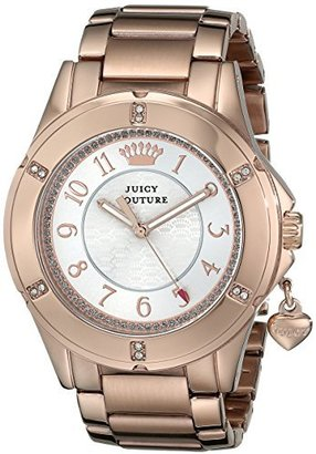 Juicy Couture Women's 1901201 Rich Girl Analog Display Quartz Rose Gold Watch $195 thestylecure.com