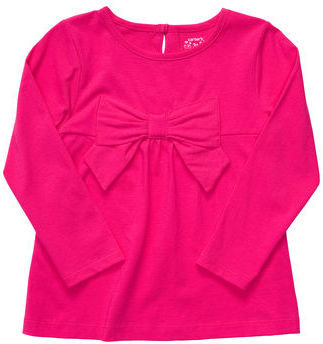 Carter's Long-Sleeve Bow Top