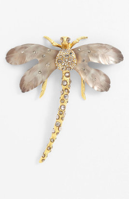 Alexis Bittar 'Lucite - Allegory' Dragonfly Statement Pin