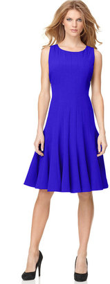 Calvin Klein Petite Sleeveless Seamed Dress