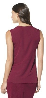Merona Women's Sleeveless Blouse w/Front Patches - Assorted Colors