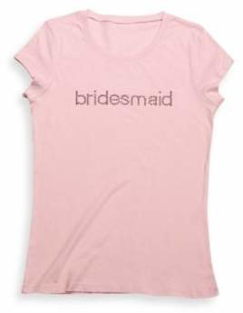 "Extra Large ""Bridesmaid"" T-Shirt $14.99 thestylecure.com"