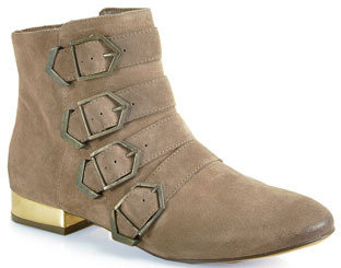 Sam Edelman Nolan - Buckled Booties in Beach