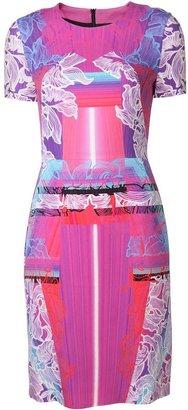 Peter Pilotto mixed print dress