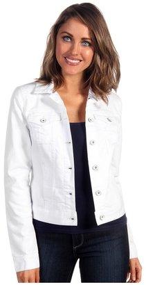 Calvin Klein Jeans Trucker Jacket (White) - Apparel