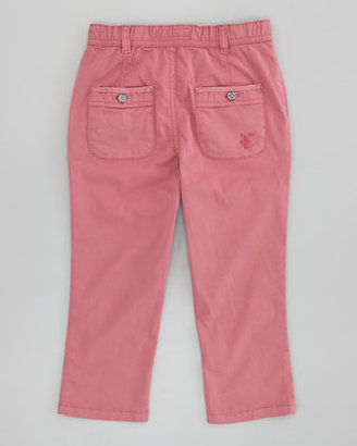 Burberry Infant Girls' Twill Pants, Dusty Pink