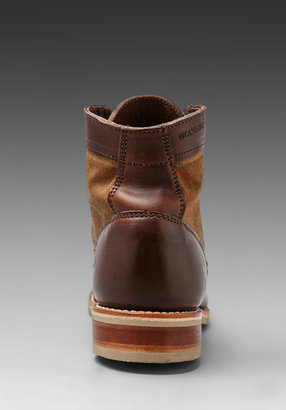 """Wolverine 6"""" Leather and Canvas Boot"""