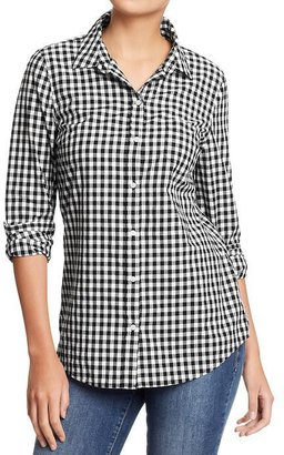 Old Navy Women's Lightweight Patterned Shirts