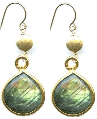 Athena Designs Labradorite Drop Earrings