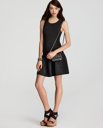 Juicy Couture Sleeveless Dress - Structured Cotton Ottoman