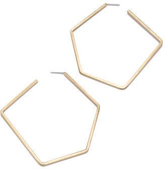 Rachel Roy Geometric Hoop