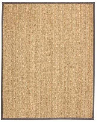 Pottery Barn Fibreworks®; Custom Color-Bound Seagrass Rug - Gray