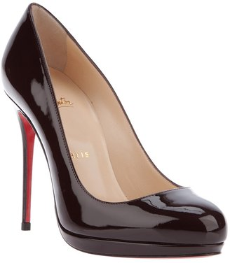 Christian Louboutin stiletto pump