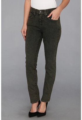 Miraclebody Jeans Skinny Minnie Acid Wash in Basil (Basil) - Apparel
