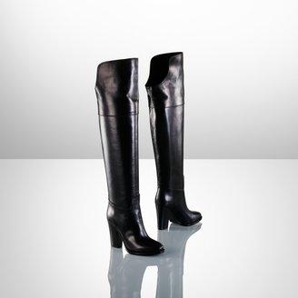 Ralph Lauren Harrah Over-the-Knee Boot
