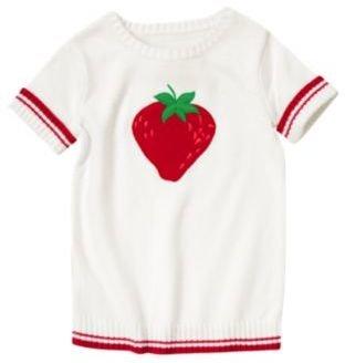 Crazy 8 Strawberry Sweater Top