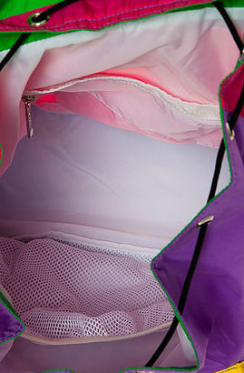 Le Sport Sac The Voyager Backpack In Colorblock