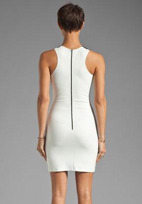 Mason by Michelle Mason Lace Inset Dress