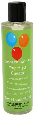 Not Soap Radio Say it With Suds: Congratulations Body Wash (No Color) - Beauty
