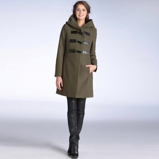 La Redoute A-Line Duffle Coat with Large Hood