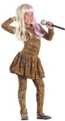 SuperStar Girl's Leopard-Print Costume